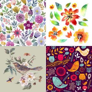 Floral cards 1